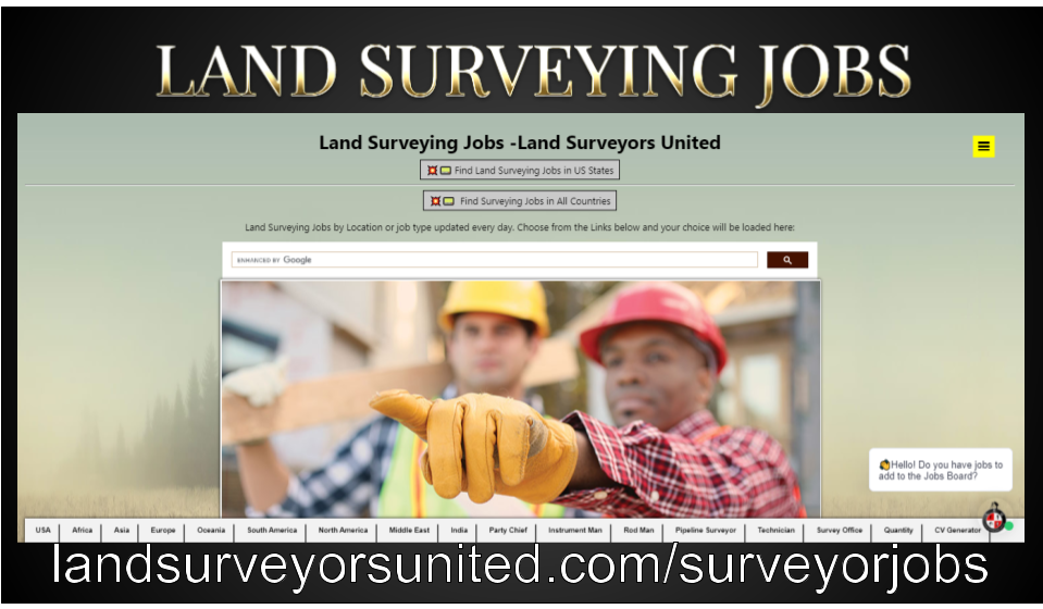 Where to Find Available Land Surveyor Jobs