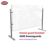 Sneeze Guards Brackets To Help Prevent The Spread Of Covid-19