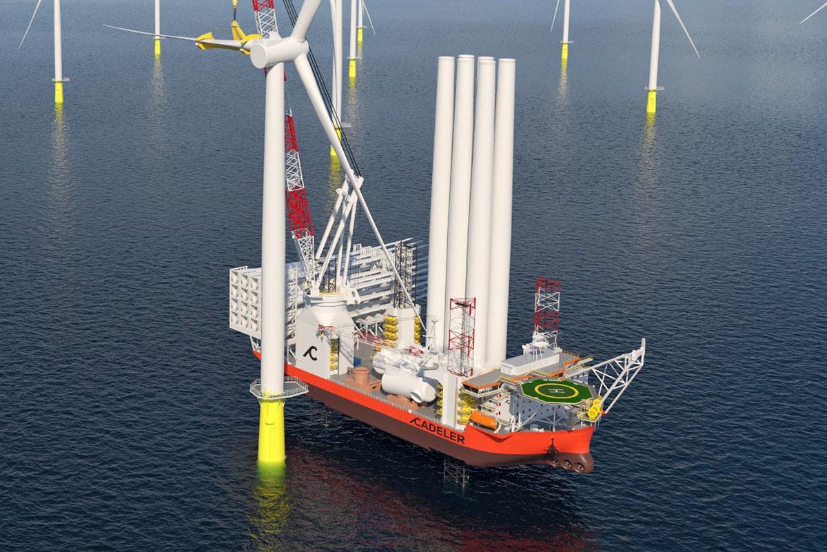 Ambitne cele morskiej energetyki wiatrowej, ale przemysł stoczniowy w Europie nie skorzysta na jej rozwoju