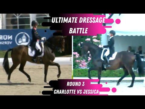 Ultimate Dressage Battle - R3 Who Did Better? Charlotte Dujardin VS Jessica von Bredow- Werndl