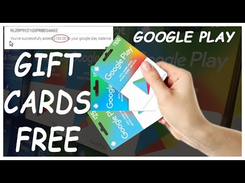 Free Google Play Gift Card Codes 2021 📁 How To Get Free Google Play Gift Card Redeem Code 🔥