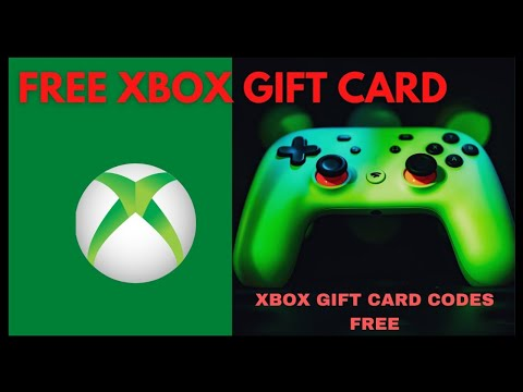 Free Xbox Gift Card Codes 2021 ☞ Free Xbox Gift Cards ☜ How Can I Got Free Xbox Gift Card in 2021