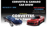 Corvettes for a Cause Corvette and Camaro Car Show -Lawrenceville, GA