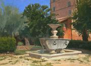 The Old Fountain, San Cosimato, Rome