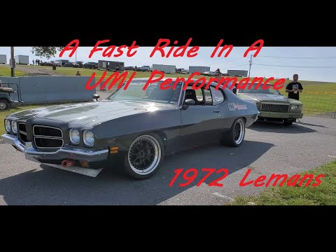 UMI Performance Fast Drive With Dave In A UMI 1972 LeMans