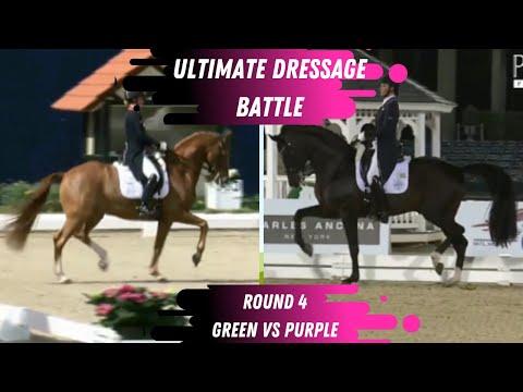 Ultimate Dressage Battle - R3 Who Did Better? Green VS Purple