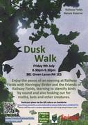 Dusk Walk at Railway Fields