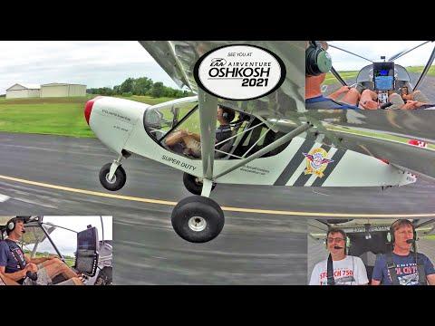 Flying the STOL CH 750 Super Duty: Oshkosh 2021 Preview