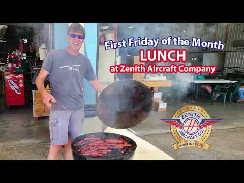 First Friday Lunch at Zenith Aircraft