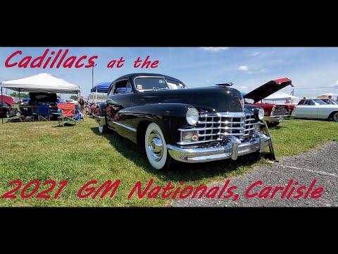 Cadillacs At the 2021 GM Nationals
