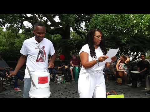 "Poem: ""New Orleans"" (copyright 2021) - Congo Square Series"