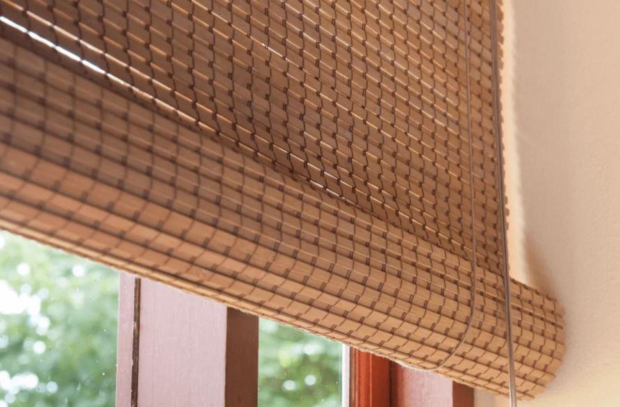 Model Tirai Bambu Mempercantik Rumah