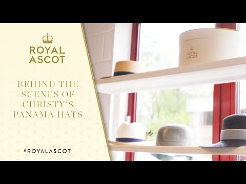 The Making of a Christy's Panama Hat