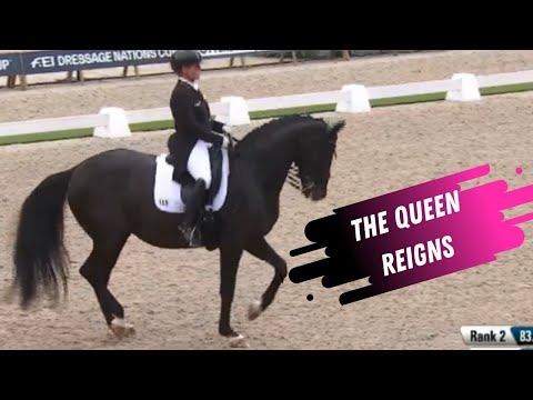 The Queen: Isabell Werth & Weihegold Reign Supreme At The Nations Cup Grand Prix Dressage Rotterdam