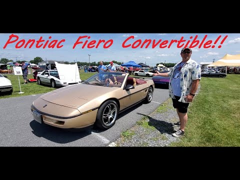 Wes' 1987 Fiero Convertible