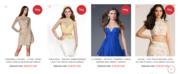 Buy designer short prom dresses on clearance sale online