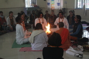 Yoga Pooja Ceremony in JIvan Chakra Foundation
