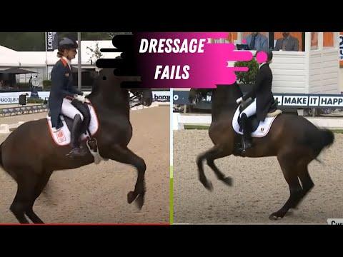 Dressage Fail Compilation - Rotterdam Reboot - Nations Cup Grand Prix Dressage