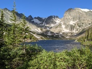 Lake Isabelle at Brainard Lake Rec Area