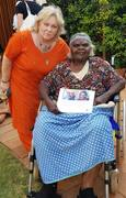 Gail With Aunty in Uluru