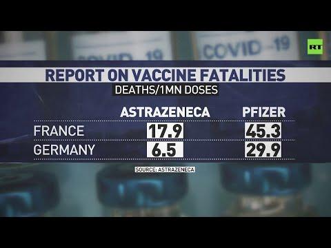 Pfizer jab deadlier than AstraZeneca across Europe – leaked study