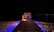 Night Sky - Pier at Chabil Mar Resort Belize
