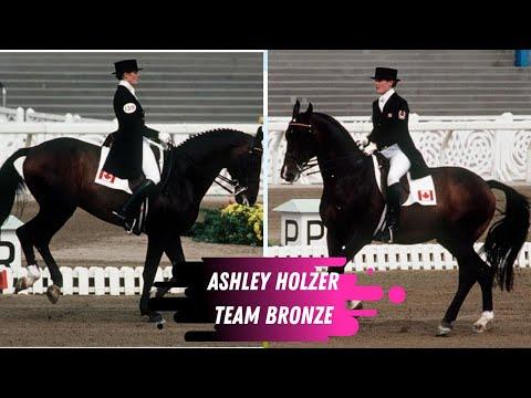 Ashley Holzer (Nicoll)Team Dressage Bronze Medal Winning Ride 1988 Olympic Games In Seoul