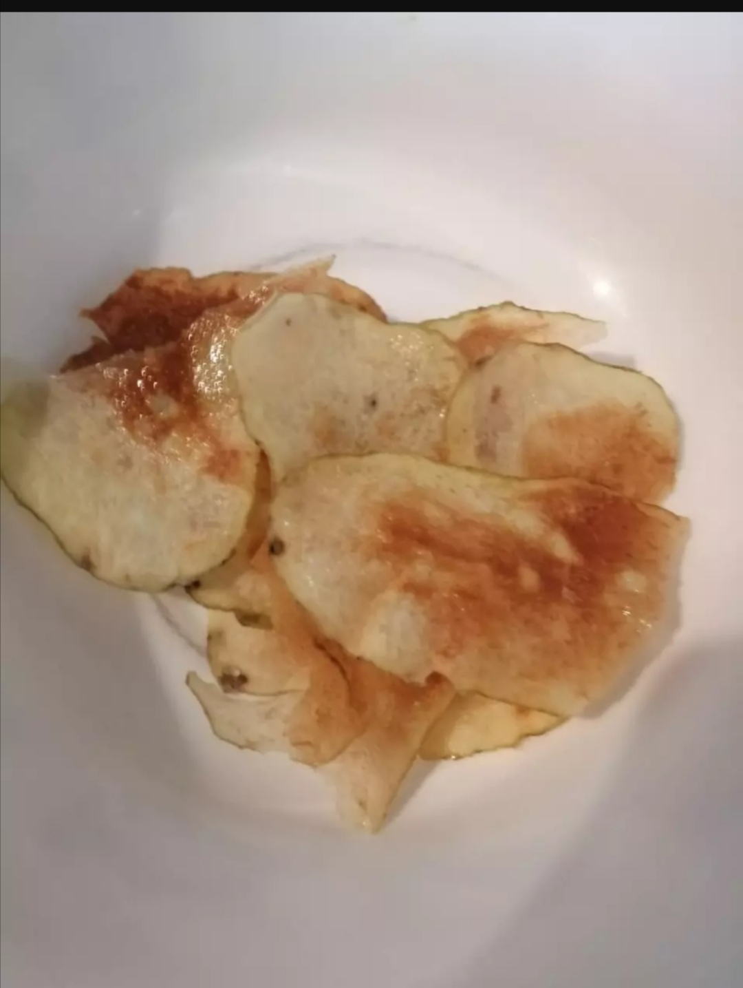 Chips rapidas, fáciles y sanas 2do intento