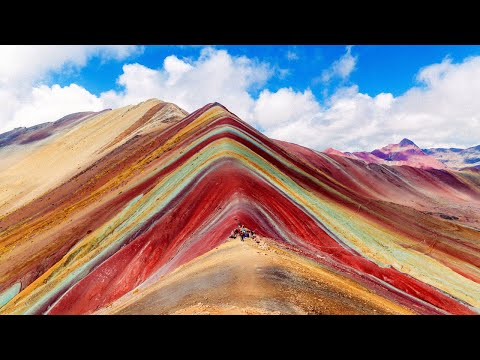 The Colorful Mountain in Peru; Rainbow Mountain