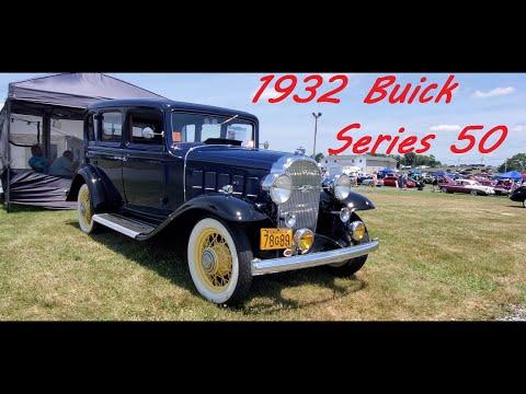 1932 Buick Series 50 Model 57 4 Door Sedan
