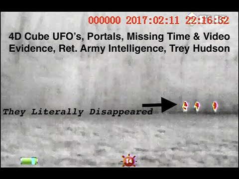 Portals, Missing Time & 4D Cube UFO's, Video Evidence, Ret. Army Intelligence, Trey Hudson