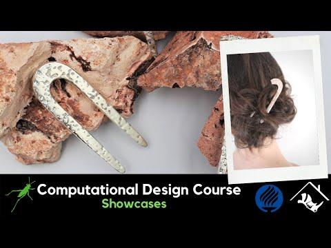 No.1_Computational Jewelry Design and Digital Fabrication with Grasshopper3D & Rhino3D