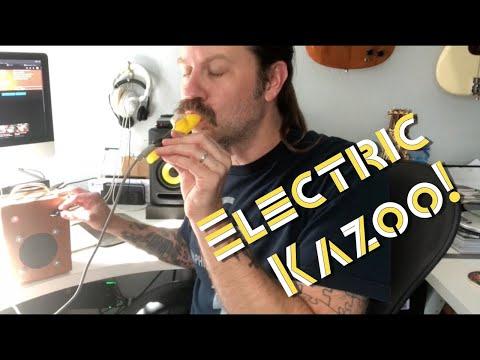 How To Electrify a Kazoo!