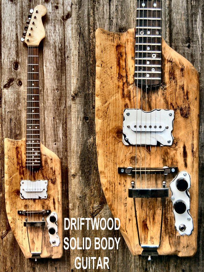 Driftwood Guitar
