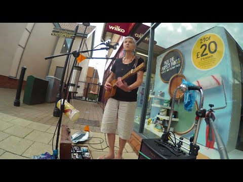 Lost Together - Live Looping With 3 String Cigar Box Guitar