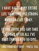 Strong Warrior Woman
