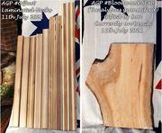 Laminated Necks and gifted Australian Bloodwood Slab