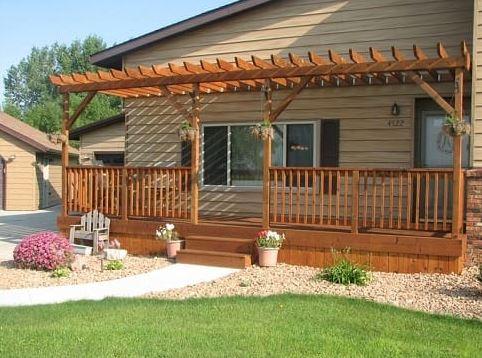 5 Desain Teras Rumah dari Kayu