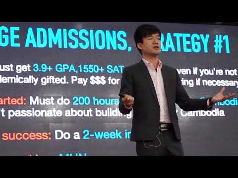 The Truth about College Admission | Alex Chang | TEDxSMICSchool