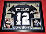 ROGER STAUBACH SIGNED COWBOYS JERSEY