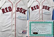 TED WILLIAMS SIGNED SOX JERSEY