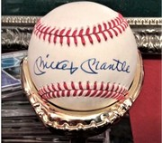 MINT + OVERALL SIGNED MANTLE BALL