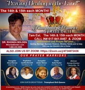 July 2021 14th and 15th Triumphant Women Prayer Call Flyer