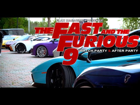 FAST AND FURIOUS 9 MOVIE PREMIERE and AFTER PARTY