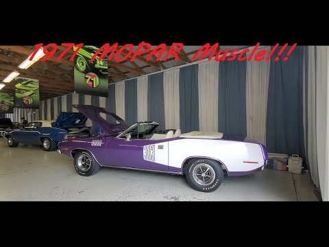 1971 MOPAR 'Cuda, Charger, Super Bee, Sebring Plus and More! (at the 2021 Chrysler Nationals )