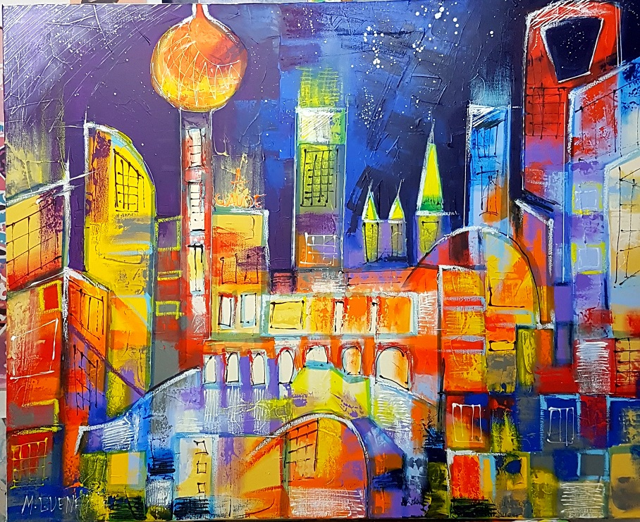 SHANGHAI  BY NIGHT  81X65
