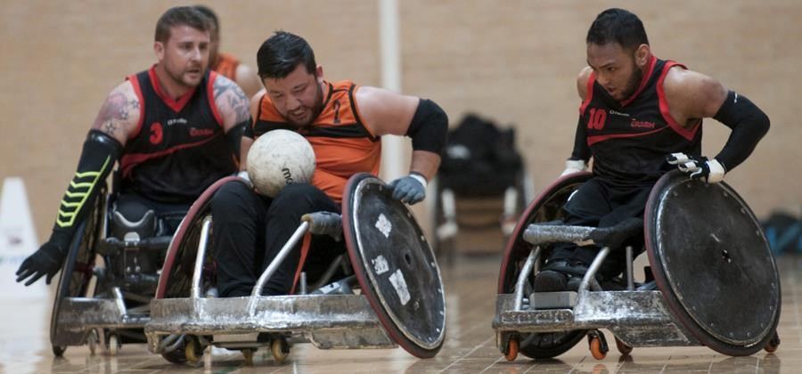 The Science of Wheelchair Rugby