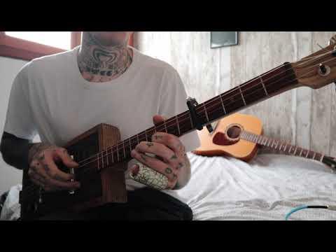 Gary O'slide - Solo slide cigar box guitar