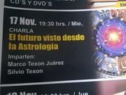Charla sobre la practica prfoesional de la astrología