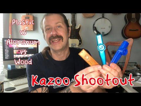 Kazoo Shootout (Plastic vs Aluminum vs Wood)